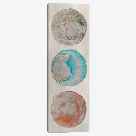 Planet Trio II Canvas Print #WIG71} by Alicia Ludwig Art Print