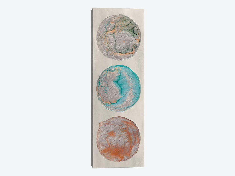 Planet Trio II by Alicia Ludwig 1-piece Canvas Artwork