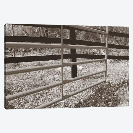 Sepia Farm Study I Canvas Print #WIG72} by Alicia Ludwig Art Print