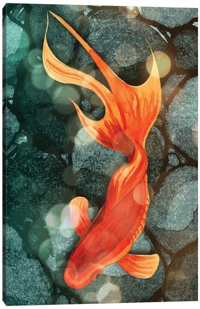 Fantail I Canvas Art Print