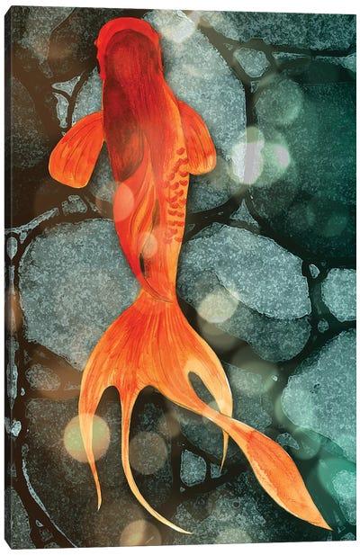 Fantail II Canvas Art Print