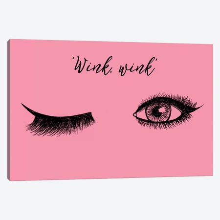 Lash Chat IV 3-Piece Canvas #WIG90} by Alicia Ludwig Canvas Print
