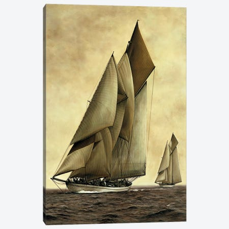 Adela, 1908 3-Piece Canvas #WIM1} by William Matthews Canvas Print
