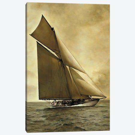 Caress, 1895 3-Piece Canvas #WIM2} by William Matthews Canvas Art Print