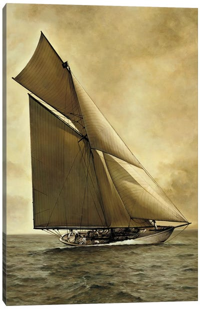 Caress, 1895 Canvas Art Print