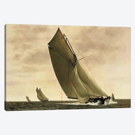 Newport, 1903 3-Piece Canvas #WIM4} by William Matthews Canvas Art