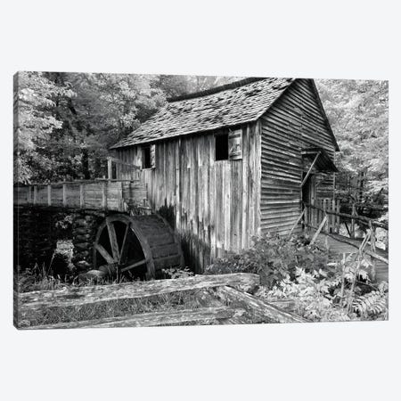 Cable Mill At Cades Cove Canvas Print #WIN1} by Winthrope Hiers Canvas Art