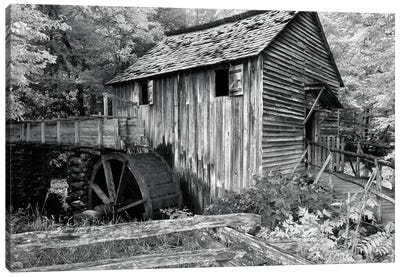 Cable Mill At Cades Cove Canvas Art Print
