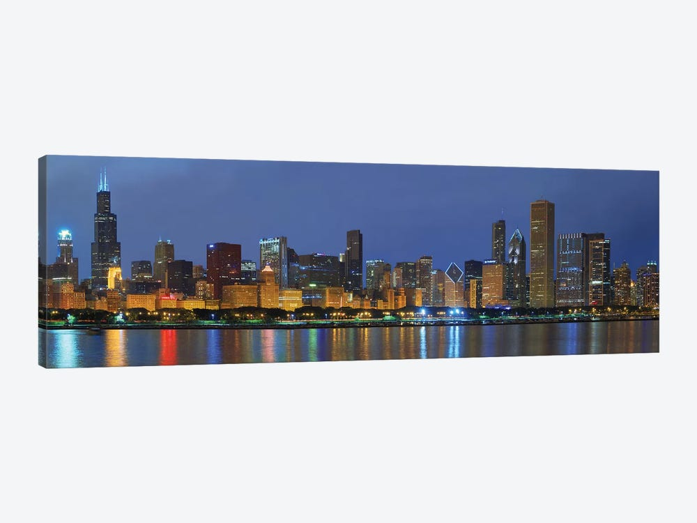 Chicago Skyline by Winthrope Hiers 1-piece Canvas Print