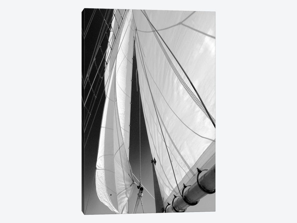 Sailboat Sails by Winthrope Hiers 1-piece Canvas Art