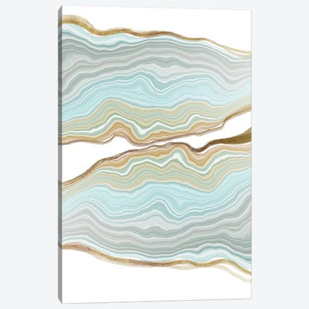 Aqueous Iridescence Canvas Print #WIR1} by 5by5collective Art Print