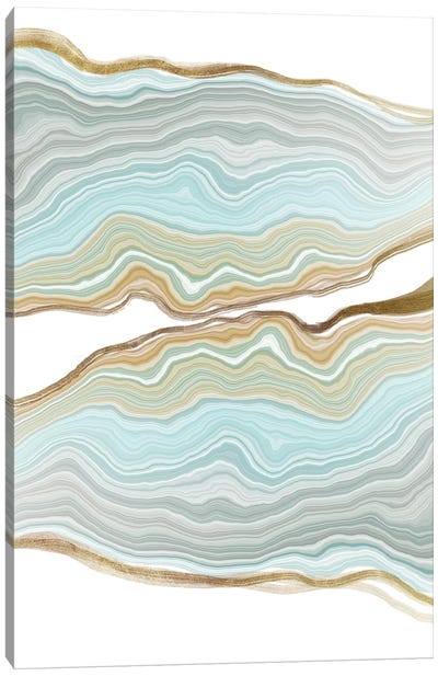 Aqueous Iridescence Canvas Art Print