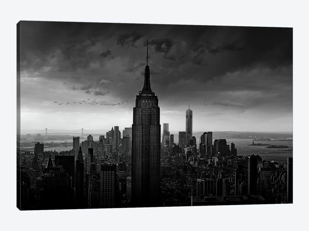 New York Rockefeller View by Wim Schuurmans 1-piece Canvas Print