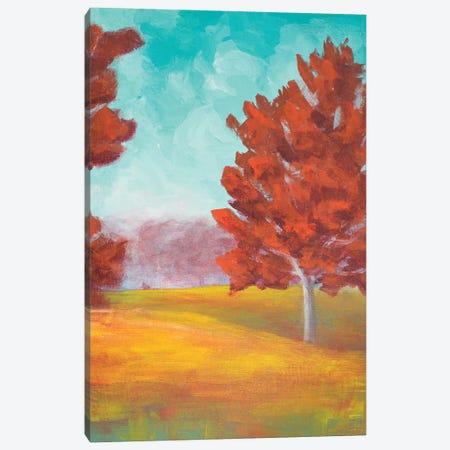 Yellow Pasture Canvas Print #WJO13} by Walt Johnson Canvas Print