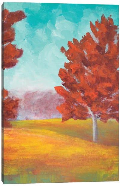 Yellow Pasture Canvas Art Print