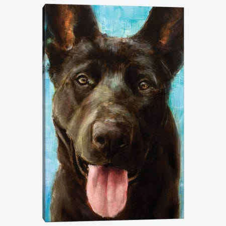 Best Friend II Canvas Print #WJO2} by Walt Johnson Canvas Wall Art