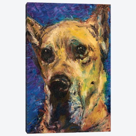 Happy Companion II Canvas Print #WJO4} by Walt Johnson Canvas Print