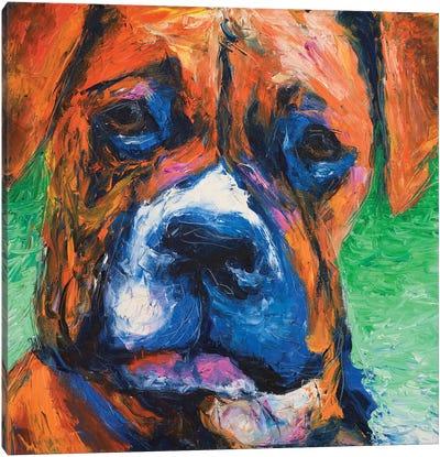 Puppy Dog Eyes II Canvas Art Print