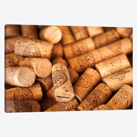 Viu Manent Wine Corks In Zoom Canvas Print #WKA5} by Wendy Kaveney Canvas Artwork