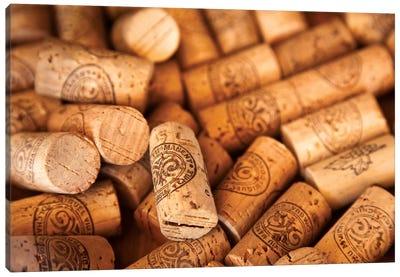 Viu Manent Wine Corks In Zoom Canvas Art Print