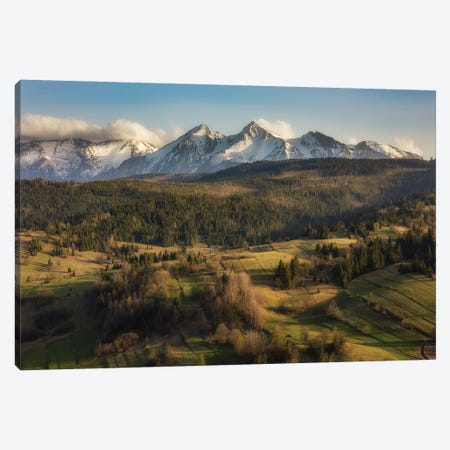 Tatra Mountains IV Canvas Print #WKB132} by Wiktor Baron Canvas Artwork