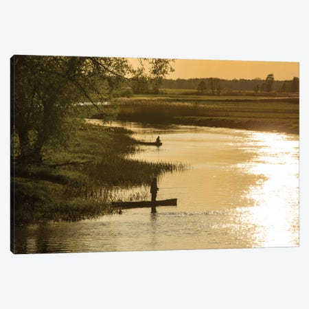 Biebrza River - Poland Landscapes Canvas Print #WKB14} by Wiktor Baron Canvas Artwork