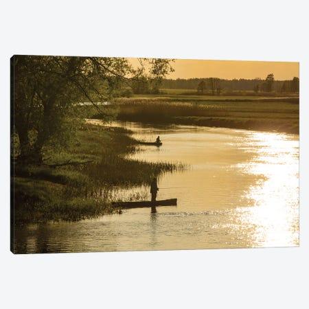 Biebrza River - Poland Landscapes Canvas Print #WKB14} by Wiktor Baron Canvas Artwork