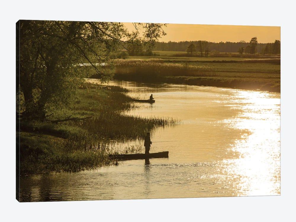 Biebrza River - Poland Landscapes by Wiktor Baron 1-piece Canvas Art Print