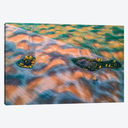 Fields In Mazury Canvas Print #WKB27} by Wiktor Baron Art Print