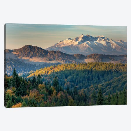 Hights Tatras Mountains II Canvas Print #WKB39} by Wiktor Baron Art Print
