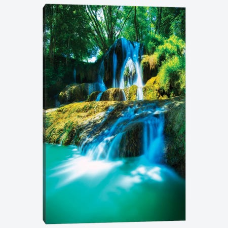 Likawski Waterfall Canvas Print #WKB55} by Wiktor Baron Canvas Artwork