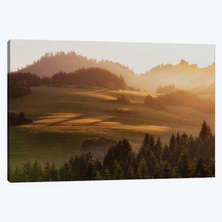 Pieniny Mountains Canvas Print #WKB72} by Wiktor Baron Art Print
