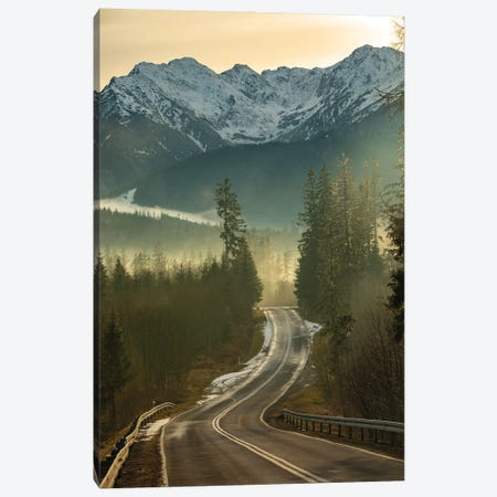 Route In Tatra Mountains Canvas Print #WKB86} by Wiktor Baron Canvas Print