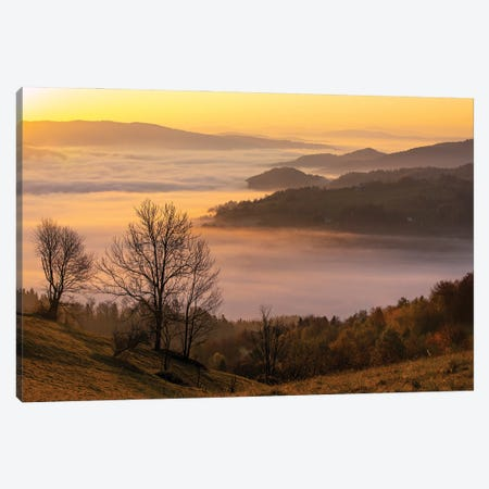 Autum In Poprad Valley Canvas Print #WKB8} by Wiktor Baron Canvas Art