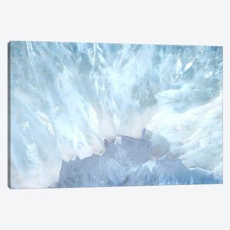 Blue Agate Light Canvas Print #WKK10} by Wendy Kroeker Canvas Art