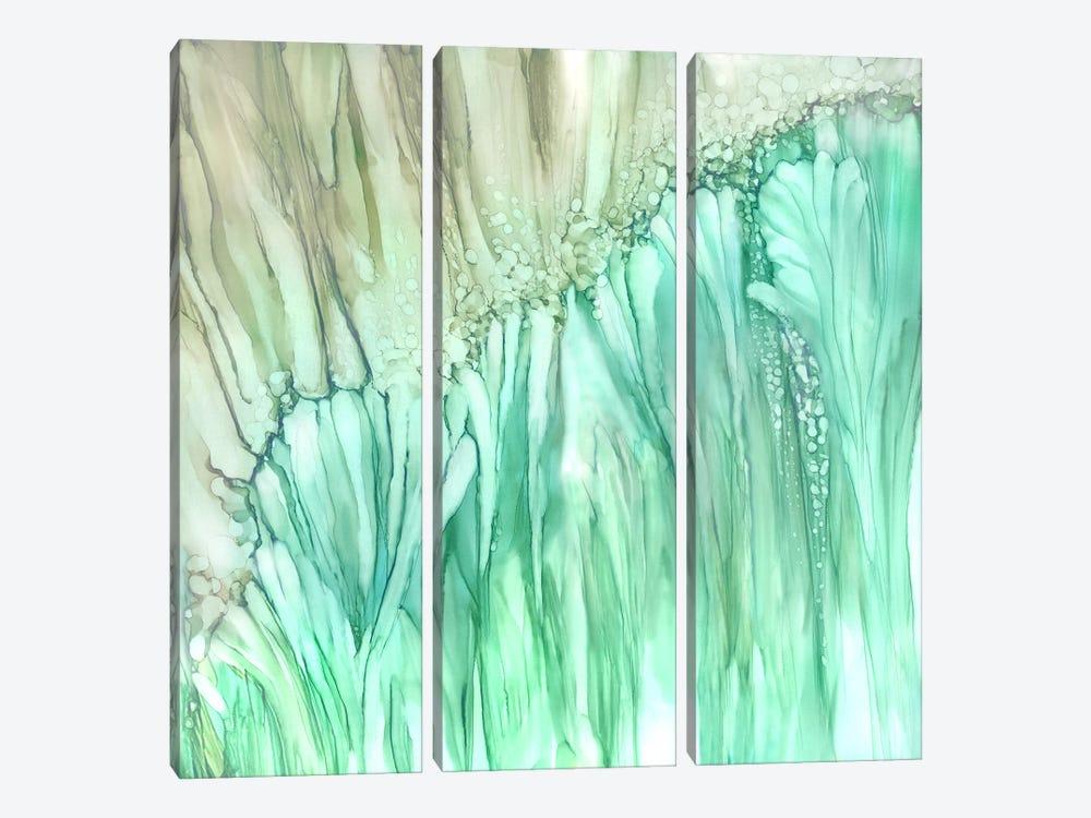 Dream Flower by Wendy Kroeker 3-piece Canvas Art
