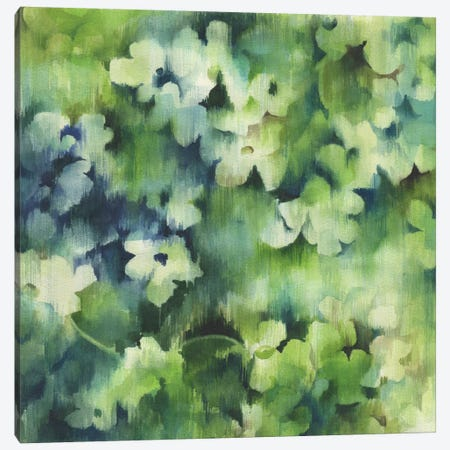 Lush Meadow Canvas Print #WKS2} by Jane Wicks Canvas Wall Art