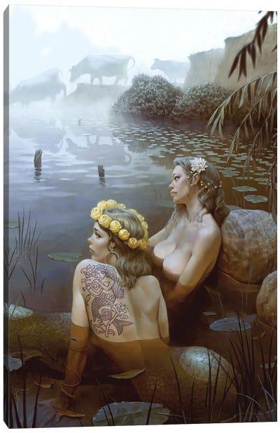 Duhov Day (Spirit'S Day) Canvas Art Print