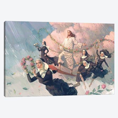 Only Love Canvas Print #WKZ14} by Waldemar Kazak Canvas Artwork