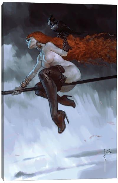 Red Mistress Canvas Art Print