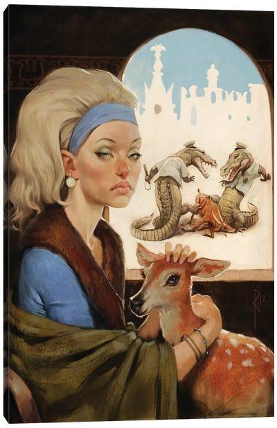 City Of Animals Canvas Art Print