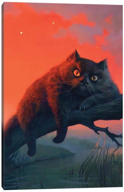 Cat Bayn Canvas Art Print