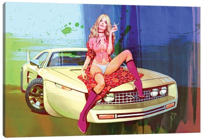 Sweet 70S Canvas Art Print