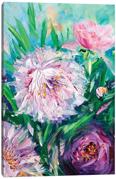 Like a Breeze Canvas Art Print
