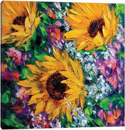 Sunny Days Canvas Art Print