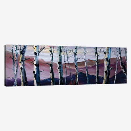 Birch Forest I Canvas Print #WLA20} by Willson Lau Canvas Wall Art
