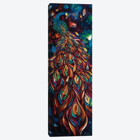 Peacock IX Canvas Print #WLA29} by Willson Lau Canvas Wall Art