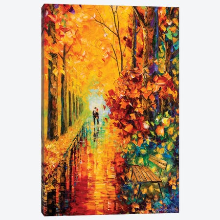 Rainscape I Canvas Print #WLA34} by Willson Lau Canvas Artwork