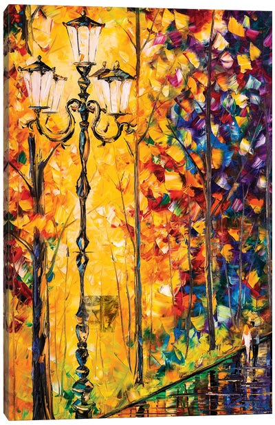 Rainscape II Canvas Art Print