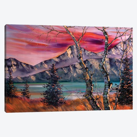 The Snow Mountains Series I - The Call from Afar Canvas Print #WLA37} by Willson Lau Canvas Art